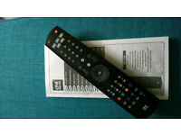 Universal remote control (Brand: one for all)