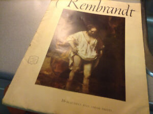 Rembrandt - 16 Beautiful Full Color Prints