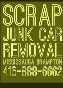 SCRAP YOUR UNWANTED OLD CAR FOR TOP DOLLAR PLUS SAME DAY TOW
