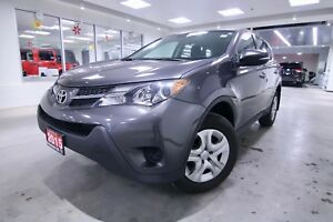 2015 Toyota RAV4  LE,ONE OWNER VEHICLE,CLEAN CARPROOF,NON SMOKER