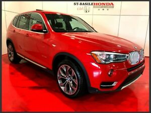 BMW X3 xDrive28i + XLINE + PANO + CAMERA 2015