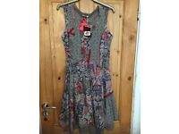 STUNNING JOE BROWN DRESS (BRAND NEW WITH TAGS) SIZE 10