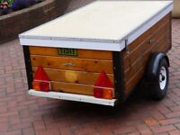 STRONG WOOD & STEEL TRAILER 5 FT x 3FT.