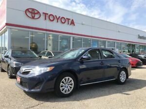 2014 Toyota Camry LE, Off Lease, 29766 kms!!, Carproof Clean