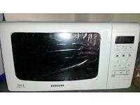 Samsung microwave in box