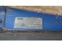 Cab ( in parts) for FORD tractor 3000 Tractor model 61013G. Was removed. Not required now.