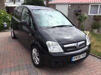 Vauxhall meriva 1.6 active 2006 facelift model 5 door mpv people carrier 12 months mot one owner