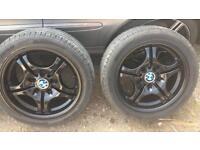 BMW m sport style 68 17' alloys&tyres