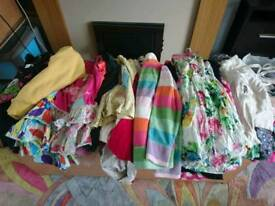 Girls clothes.