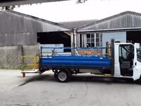 ford transit tail lift body