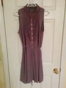 Zara lavender light dress