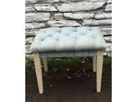 Vintage Dressing Table Stool Piano Stool Shabby Chic