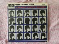 Beatles A Hard Days Night LP and EP and Beatles Hits EP