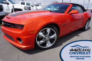 2011 Chevrolet Camaro CONVERTIBLE 2SS*V8 6.2L*400 CH*RS*