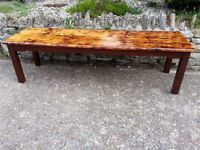 Garden Bench or low table