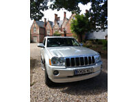 Stunning Jeep Grand Cherokee Overland 3,0 Diesel Automatic Top of The Range 4 x4
