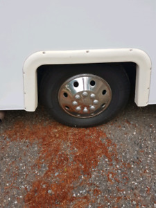 Set of 4 Chrome hubcaps for sale!!
