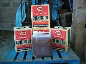 We buy your waste cooking oil