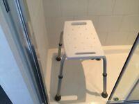 Freestanding Shower Seat