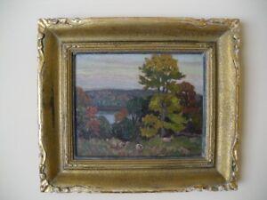 Original Oil Painting by Canadian Artist Herbert Sidney Palmer