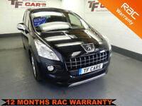 Peugeot 3008 Crossover 1.6HDi FAP Exclusive - FINANCE AVAILABLE AT LOW RATES!