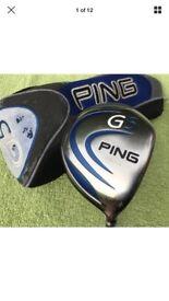Ping G5 driver golf club