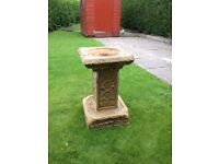 Scottish Sandstone bird bath