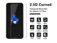 100% GENUINE TEMPERED GLASS FILM SCREEN PROTECTOR FOR APPLE IPHONE 6/6S 7, - NEW