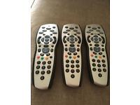 3 x Brand New SKY HD Remote with batteries