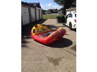 Jet ski inflatable tow toy