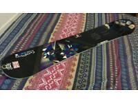 Salomon snowboard 157cm