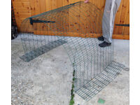 Omlet EGLU CLASSIC - 1 metre RUN EXTENSION Kit A - Add on 1m mesh run including NEW clips