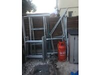 scaffolding tower for sale good clean condition
