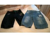 2 pair of boys shorts from next