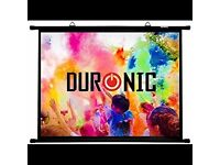 Duronic 70 inch Simple Bar Projector Screen 4:3
