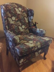 Comfy high back chair