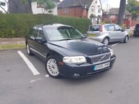 2005 VOLVO S80 2.4 TD D5 SE AUTO BLACK SUNROOF CAMBELT CHANGE LADY OWNER