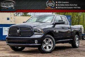 2017 Ram 1500 New Truck Sport|4x4|Backup Cam|Bluetooth|R-Start|K