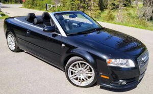 2009 Audi A4 S-Line Convertible