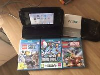 boxed wii excellent condition u & games