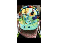 Baby to toddler rocker chair