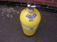 12Litre Faber Steel Diving Cylinder