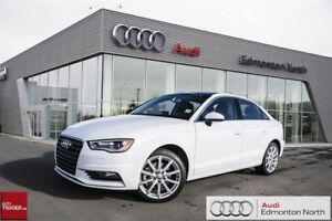 2016 Audi A3 1.8T Komfort FWD 6sp S Tronic Executive Demo (Grou