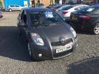 STUNNING TOYOTA YARIS 1.8L---FULL SERVICE HISTORY---ONE YEAR MOT---3MONTHS PARTS & LABOUR WARRANTY