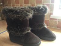 Ladies Fur Boots