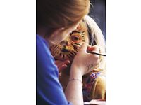 Volunteer Face Painters with the RSPB