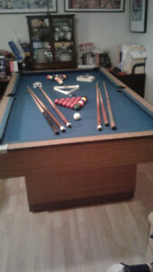 4 x 8 pool table