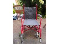 Wheelchair (Fold Up)