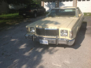 1977 Mercury Monarch 2dr sport model. ESS style car in Ottawa