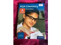 AQA chemistry 2nd edition A Level book